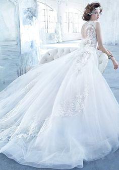 Lazaro 3366 Ball Gown Wedding Dress