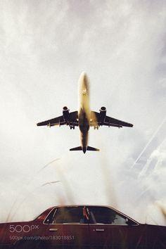 Untitled by rawyfla with airskytravelairportaircraftflightflyairplanevehiclejettakeoffno persontransportation system