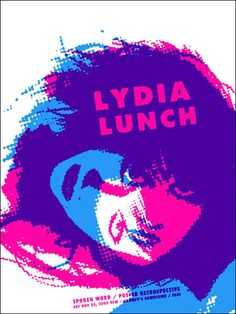 Lydia Lunch     Grumpy's Downtown   11/22/2003   Artist: Aesthetic Apparatus