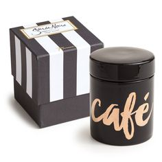 Soiree Noire Cafe Container
