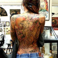 #tiger #backpiece #tattoo