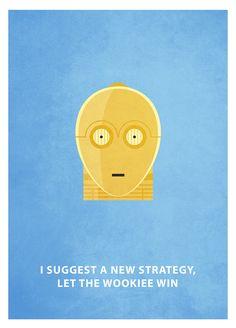 Geek Art Gallery: Posters: Star Wars Minimalism