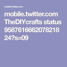 mobile.twitter.com TheDIYcrafts status 958761666207821824?s=09