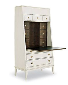 Hallings Secretary by Thomas O'Brien for Hickory Chair Co. - ELLE DECOR
