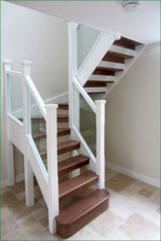Has anyone had a spiral staircase removed and replaced with a conventional staircase? What was the cost? Was it a major … – staircase Attic Stairs, Basement Stairs, House Stairs, Small Space Staircase, Staircase Design, Stair Design, Staircase Ideas, Stairs For Tight Spaces, Hallway Ideas