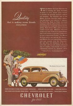 Chevrolet magazine ad, before MY time I might add. Vintage Advertisements, Vintage Ads, Car Brochure, Latin Words, Car Magazine, Car Advertising, Automobile Industry, Lightning Strikes, Beautiful Lines