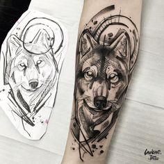 Lion Head Tattoos, Bear Tattoos, Wolf Tattoos, Animal Tattoos, Body Art Tattoos, Wolf Tattoo Forearm, Wolf Tattoo Sleeve, Arm Band Tattoo, Sleeve Tattoos