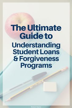 Student loans are both massive (in $$$) and complicated, which is why understanding your payment, refinance and forgiveness options is crucial. We tapped an expert to help you analyze your loans and explain which route is best. | student loans | loan forgiveness | loan repayment | personal finance | pay for college || Wallet Hacks #financingcollege