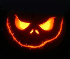 Scary Jack O Lantern Faces