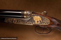Holland & Holland was approached by collector/hunter William Feldstein to build rifles based on a .700 cartridge developed by Feldstein and Jim Bell.  While H&H had ceased production of .600 Nitro Express rifles, the scaled-up .700 cartridge, in platforms like this Philippe Grifnee engraved double rifle, sparked enough interest in shooters that even production of the .600 Nitro Express rifles resumed.
