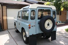 This 1963 Land Rover Series IIA has accumulated about 50 miles since a complete frame-off restoration. Originally imported from the UK to Colorado in the 90s, the restoration was done by its British owner who has many years experience working on Land Rovers.