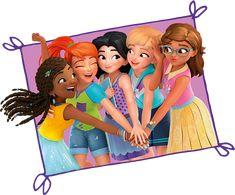 Lego Friends Birthday, Lego Friends Party, Lego Friends Sets, Birthday Cartoon, Lego Birthday Party, Lego Wallpaper, Avengers Girl, Lego Girls, Friend Cartoon
