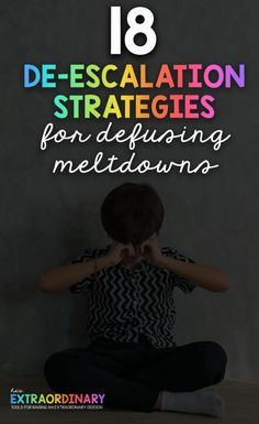 These non-violent de-escalation strategies are effective in defusing autistic meltdowns as well as tantrums and emotional and physical outbursts in children. Autism Education, Autism Parenting, Parenting Advice, Kids And Parenting, Autism Learning, Early Education, Special Education, Calming Activities, Autism Activities