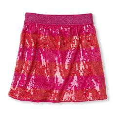 She'll shine every time she wears this fashionable, snazzy sequin striped skirt! #bigbabybasketsweeps