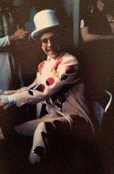 Elton at Bernie Taupin's 1971 Wedding to Maxine.