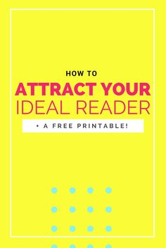 If you don't know exactly WHO your ideal reader is, then it's about time you figured that out! Why? Because if you don't even know who you're talking to, then how can you possibly know whether or not they are understanding your blog + brand? How can you create focused content for some one if you…