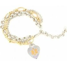 Intermingle Medical Charm Bracelet by N-Style ID
