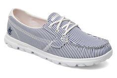 Sail 13578 Skechers (Bleu) : livraison gratuite de vos Chaussures de sport Sail 13578 Skechers chez Sarenza Skechers, Sailing, Sport, Color, Fashion, Tennis, Spring Summer 2015, Footwear, Women