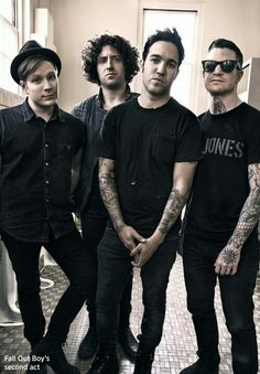 They're all looking serious and then there's Patrick