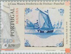 Stamp: Tegels (Madeira Islands) (Tiles of Madeira) Mi:PT-MD 202,Yt:PT-MD 209,Afi:PT 2601
