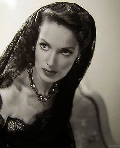 Maureen OHara - one of my favorite actresses and inspiration for Martine's spunk