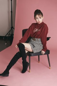Haruna Kojima, Saitama, Idol, Goth, Thing 1, Singer, Actresses, Womens Fashion, Houndstooth
