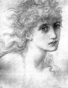 Edward Burne Jones - The Beguiling of Merlin (Model : Maria Zambaco)