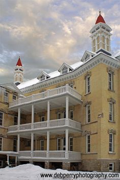 The Village at Traverse City Commons Condominiums in the Former Traverse City State Hospital, Traverse City, MI, Photo by Deb Perry