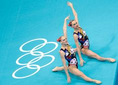 Synchronized Swimming Style: An Appreciation Post: Canada also seemed to have a theme and it was creepy, weird dolls.