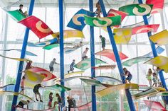 luckey climbers construct specialized playground structures for children