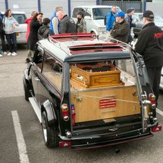 Mini Clubman Hearse.