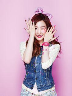 "Girls' Generation - Casio ""Kiss me Baby-G"" - Tiffany"