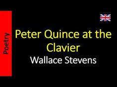 Poesía (ES) - Poetry (EN) - Poesia (PT) - Poésie (FR): Wallace Stevens - Peter Quince at the Clavier