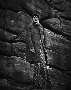 Christina Carey by Dima Hohlov for IO Donna October 2014