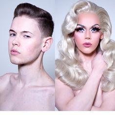 with From 12 year old boy scout to Glamour Gal. Photo: Slight facial hair: A hope and a prayer Rupaul, Blair St Clair, Mtf Transformation, 12 Year Old Boy, Old Boys, Good Looking Men, Facial Hair, Boy Scouts, Gorgeous Women
