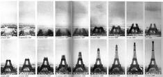 Tour Eiffel - Les deux ans, deux mois et cinq jours de la construction de la dame de fer en 18 vues
