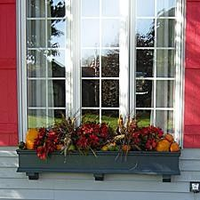 The Philly Home Blog: Fall Window Box Ideas I will be doing this to the window box on the garage.