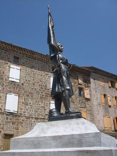 Jeanne d'Arc Arlebosc. Ardèche