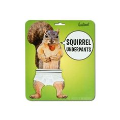 Accoutrements Squirrel Underpants | Price : $7.02