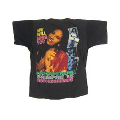 Vintage Selena Quintanilla 1995 T-Shirt ❤ liked on Polyvore featuring tops, t-shirts, vintage tops, vintage t shirts, destroyed t shirt, distressed tee and torn t shirt