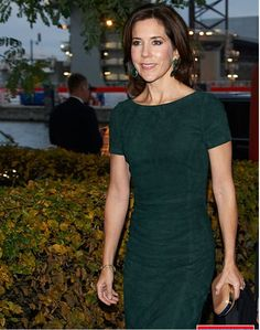 Princess Mary, State Visit From Slovakia, Day Two- Dinner