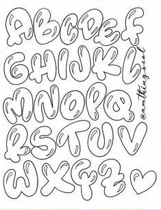Graffiti Lettering Fonts, Hand Lettering Alphabet, Graffiti Alphabet, Lettering Styles, Cool Lettering, Bullet Journal Lettering Ideas, Bullet Journal Writing, Bullet Journal Ideas Pages, Bullet Journal Inspiration
