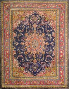 Amazing Persian Rug - handwoven in Sabzevar, Iran