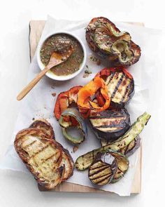 ... the flavors marry. Dollop it on grilled bread, vegetables, or steak
