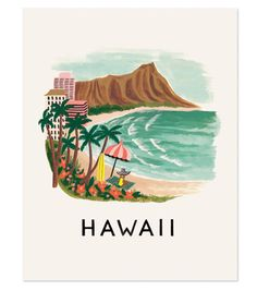 Hawaii Print by Rifle Paper Co