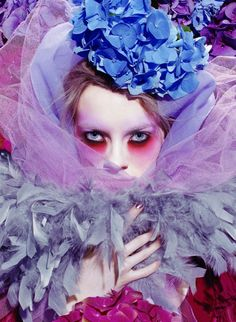 Miles Aldridge for Vogue Italia in 2007