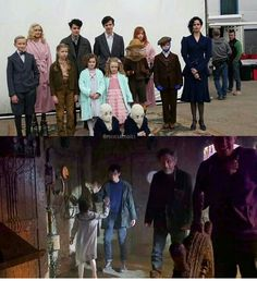 Miss Peregrine's Home For Peculiar Children Behind The Scenes