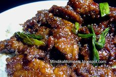 Mindika Moments: Let's continue with the favorite retaurant dish theme...