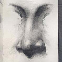 #moleskine #sketch #drawing #nose #portrait