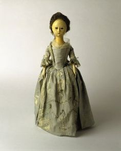 Amazon.com: Wooden doll: 18th century from The Museum of London (THIS IS AN ART PRINT): Home & Kitchen